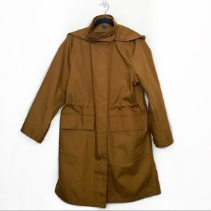 Uniqlo U Blocktech Tan Hooded Coat